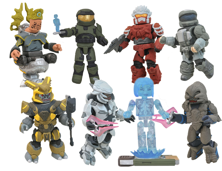 Minimates Halo Reach Rest of Our Halo Minimates
