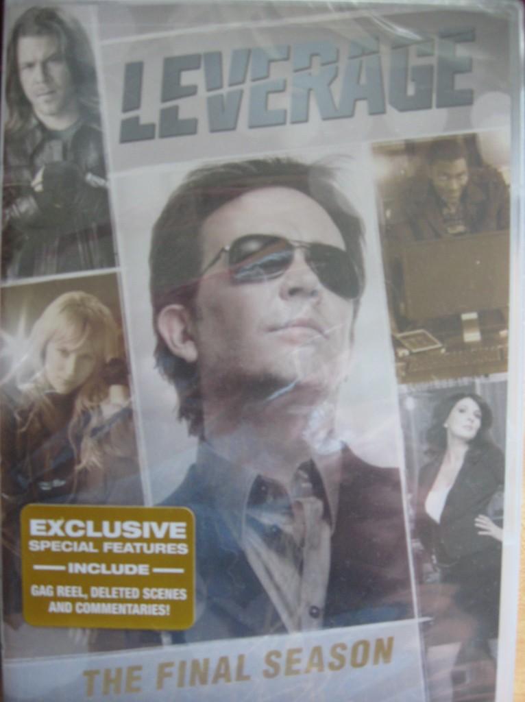 Leverage Season 5 DVD