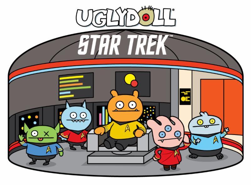 Ugly doll Star trek