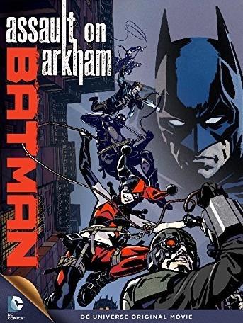 Assualt on Arkham Cover