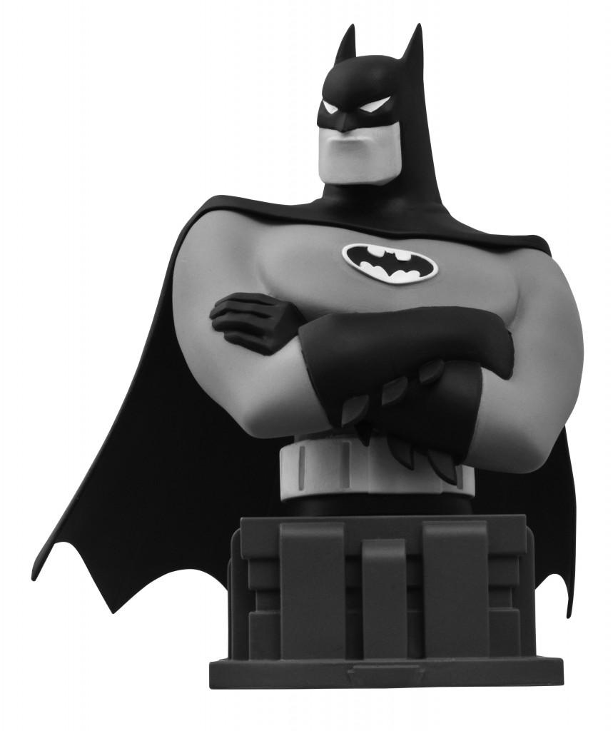 BatmanAnimatedBust_BW