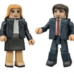 X-Files Scully and Mulder Minimates