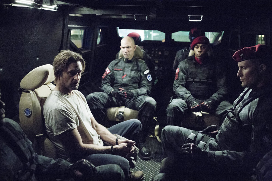 "COLONY -- ""Pilot"" Episode 101 -- Pictured: Josh Holloway as Will Bowman -- (Photo by: Isabella Vosmikova/USA Network)"