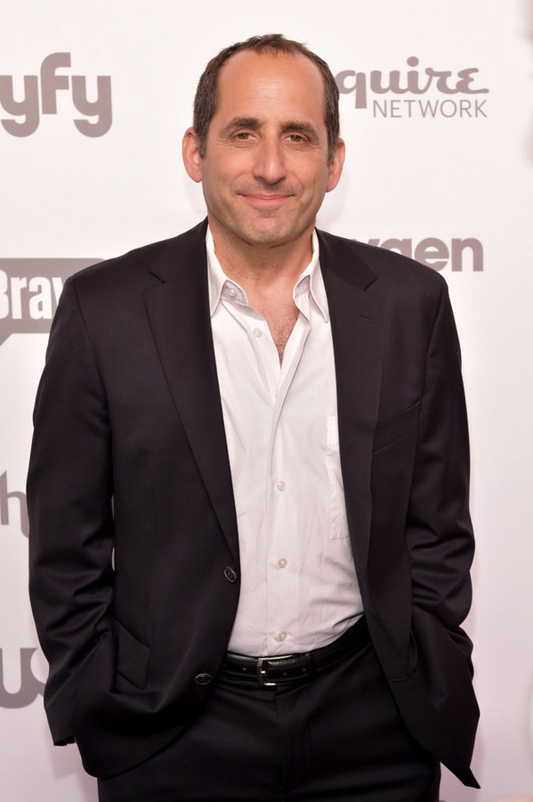 "NBCUNIVERSAL CABLE ENTERTAINMENT UPFRONT -- ""2015 NBCUniversal Cable Entertainment Upfront at the Javits Center in New York City on Thursday, May 14, 2015"" -- Pictured: Peter Jacobson, ""Colony"" on USA Network -- (Photo by: Theo Wargo/NBCUniversal Cable Entertainment)"