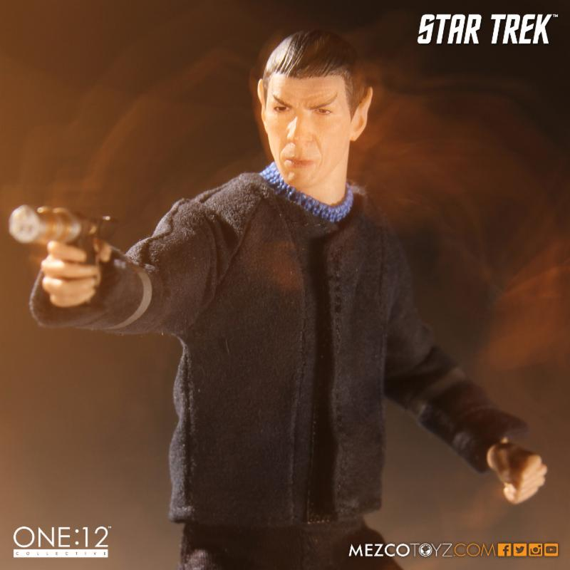 Spock from The Cage Mezco