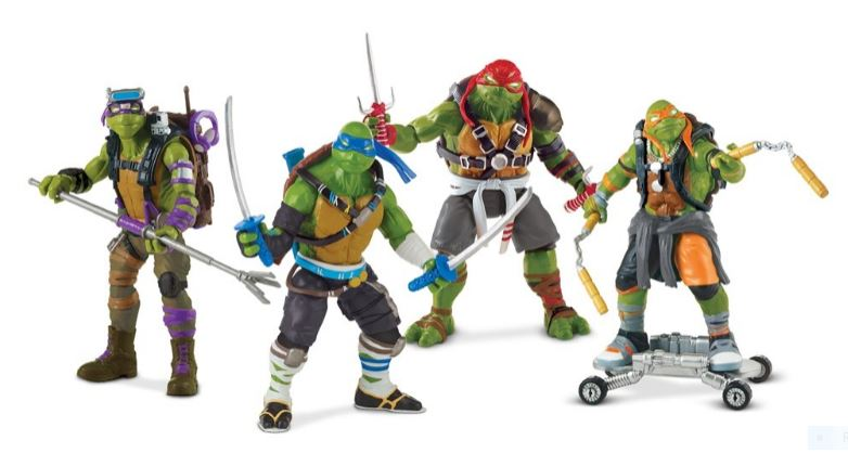 TMNT-Movie-Figures