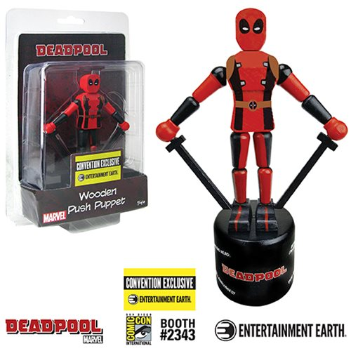 Deadpool puppet