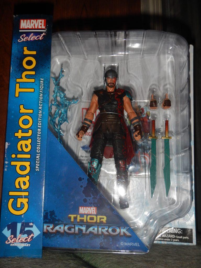 Gladiator Thor Marvel Select 7 Inch Action Figure Thor Ragnarok