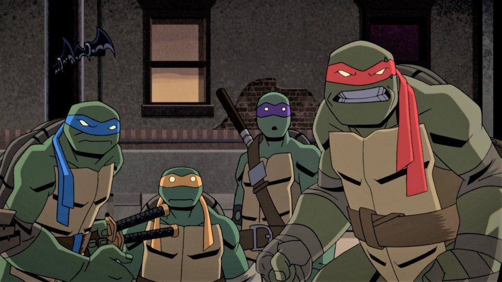 Vids Batman Vs Teenage Mutant Ninja Turtles Is Available On Digital Download Now